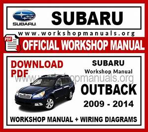 Subaru Outback Workshop Repair Manual