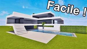 Video De Minecraft Maison : maison ultra moderne facile faire sur minecraft ~ Zukunftsfamilie.com Idées de Décoration