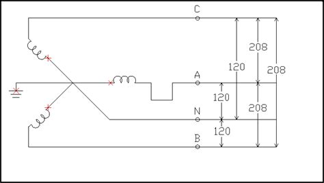 208 V 240 Wiring Diagram by 3 Phase 208v Motor Wiring Diagram Impremedia Net