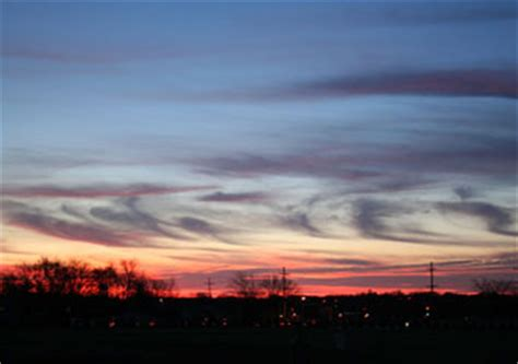 Cirrostratus Clouds - Types of Clouds - Names of Clouds