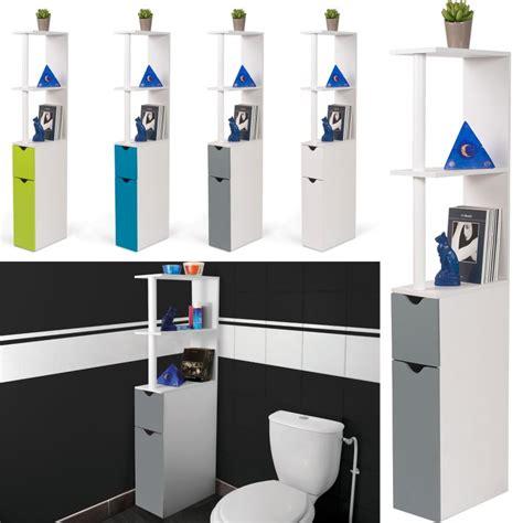 Chaque commentaire meuble wc est important car il est représentatif d'une expérience vécue. Meuble WC étagère bois gain de place pour toilette 2 portes grises ...