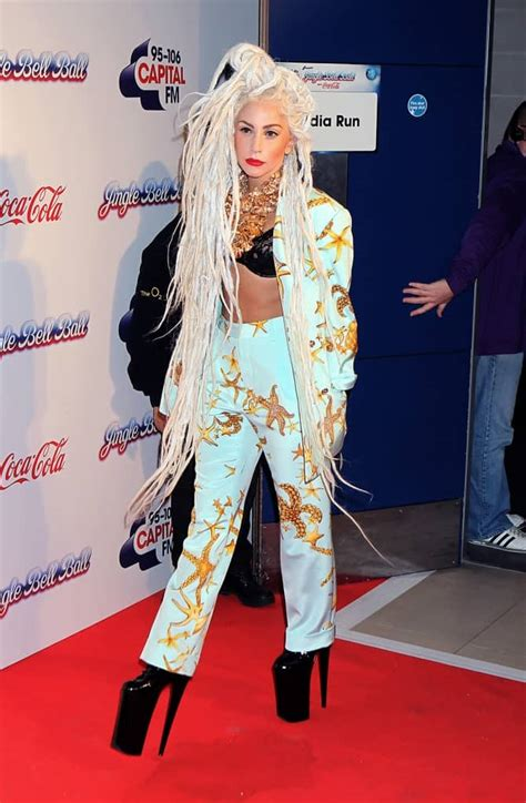 lady gaga outfits craziest ten christina lolwot