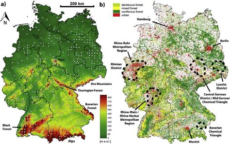 image result  topographic map  germany maps