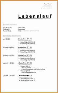 pdf vorlage lebenslauf kostenlose anwendung die vorlage With tabellarischer lebenslauf pdf