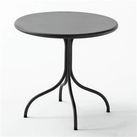 Runder Tisch Garten by Rig49 Runder Tisch Aus Metall Durchmesser 80 Cm F 252 R
