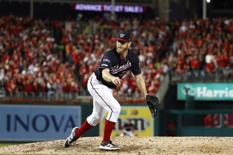 nationals washington cardinals nlcs wruf sweep against strasburg stephen pitcher pitch starting throws chance game baseball louis national espn fm