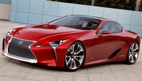 Lexus Car : Lexus Lf-lc Concept Debuts At 2012 Detroit Auto Show