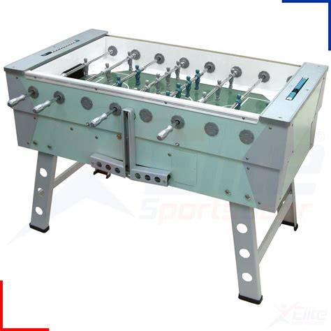 full size foosball table rainbow outdoor all weather proof foosball soccer table