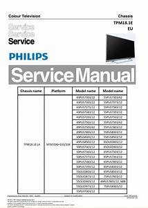 Philips 75pus8303 65pus8503 65pus7303 Tpm18 1ela Tv
