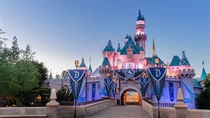 Disneyland Disney Wallpapers Park Land Castle Desktop