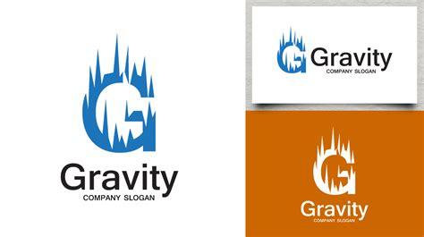 letter  gravity logo logos graphics