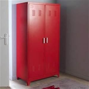 Armoire Metallique Chambre : fly armoire metallique ~ Teatrodelosmanantiales.com Idées de Décoration