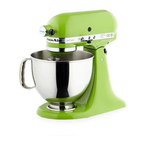 lime green small kitchen appliances kitchenaid mixer ksm150 apple green on now 9036