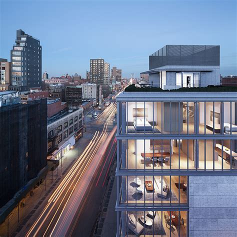 new penthouse renderings of tadao ando's NYC residential