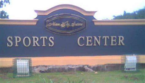 alam sutera sports center tangerang selatan