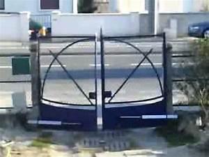 Portail Brico Depot 4m : motrisation de portail brico d pot youtube ~ Farleysfitness.com Idées de Décoration