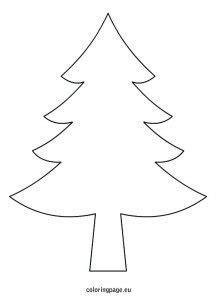 christmas tree printable templates kittybabylovecom