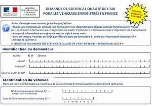 Certificat Qualité De L Air : t l charger formulaire de demande de certificat qualit de l 39 air pour les v hicules enregistr s ~ Medecine-chirurgie-esthetiques.com Avis de Voitures