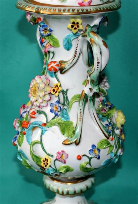 coalport porcelain coalbrookdale vase