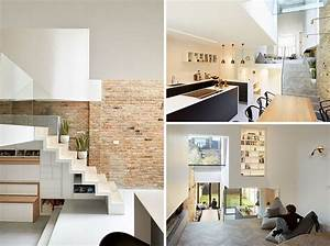 Split Level Haus : this british home has been redesigned to include a split level interior contemporist ~ Buech-reservation.com Haus und Dekorationen