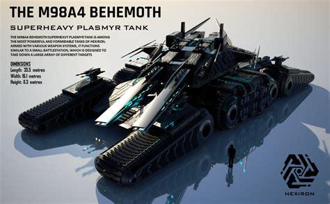 siege edf m98a4 behemoth superheavy plasmyr tank hd by duskie