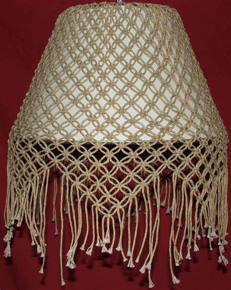 resultado de imagen de macrame lamp shade pattern dekor