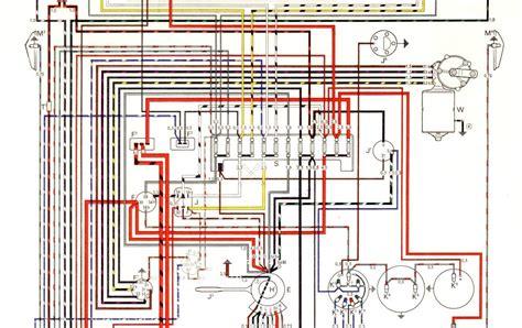free auto wiring diagram 1966 vw karmann ghia models