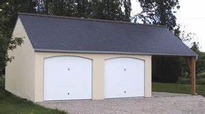 Cloture Béton Préfabriqué Tarif : garages pr fabriqu s en b ton et b ton aspect bois sur mesure ~ Edinachiropracticcenter.com Idées de Décoration