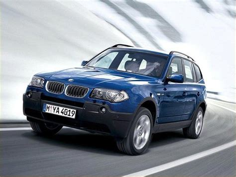 bmw x3 e83 2005 bmw x3 2 0i e83 related infomation specifications
