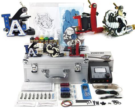 Apprentice Tattoo Kit 2 - Apprentice Tattoo Kit with Case