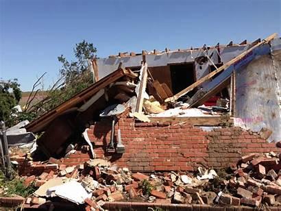 Damage Tornado Reno El Weather Caused Ok