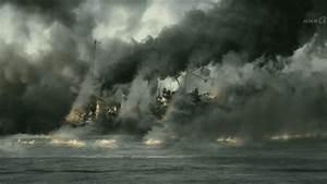 battleship oslyabya destroyed by japanese gunfire...