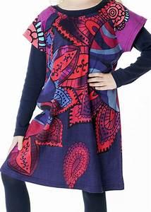 Robe Boheme Fille : robe boh me pour petite fille pas ch re violette ~ Melissatoandfro.com Idées de Décoration