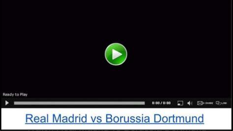 Watch real madrid vs borussia dortmund live stream uefa ...