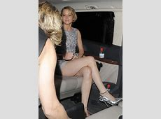 Jennifer Lawrence Awesome Legs Leaving Dior Party