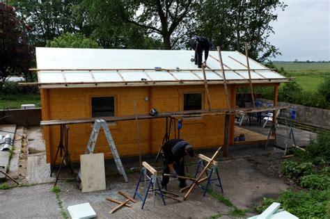 gartenhaus isolieren  daemmen sie fassade dach boden