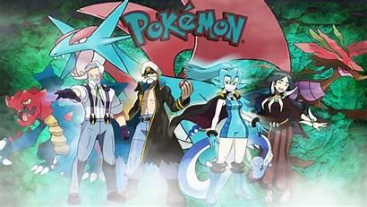 Dragon Type Pokemon Trainers Deviantart Wallpapers Fan