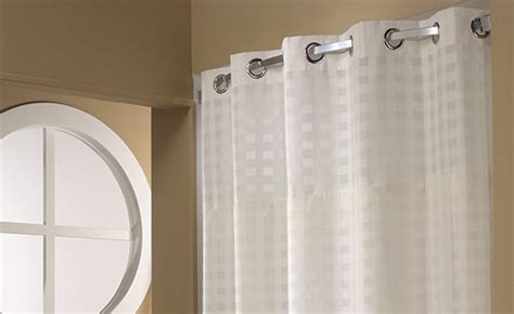 Basketweave Hookless® Shower Curtain Medallion Curtain Holdbacks Poles Ireland Cafe Rod Brackets What Is Sailcloth Curtains Privacy Rods Princess Canopy Bed Navy Kitchen Gray Swag