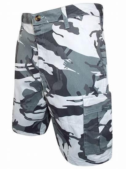 Cargo Camo Shorts Twill Waist Wrangler Mens