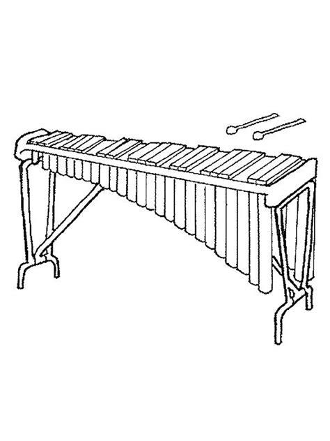 Instrument Kleurplaat by Coloring Page Musical Instruments Musical Instruments