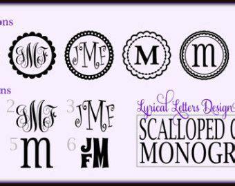 circle monogram font   circle block monogram font   monogram fonts