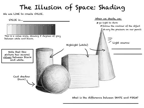 illusion of space illusion of space shading by ccrask on deviantart