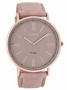 Vintage Uhren Damen : oozoo vintage damenuhr altrosa 44 mm c7342 uhrcenter ~ Watch28wear.com Haus und Dekorationen