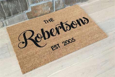 personalized door mat personalized door mats design decoration