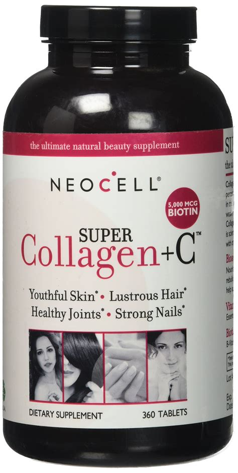 Amazon.com: NeoCell Super Collagen Type I & III + Vitamin