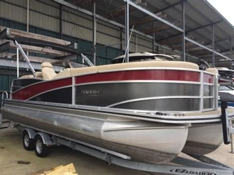 Tritoon Boats For Sale Houston by Used Pontoon Harris Boats For Sale 5 Boats