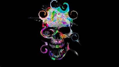 Skull 4k Colorful Artistic Wallpapers 1080p Laptop