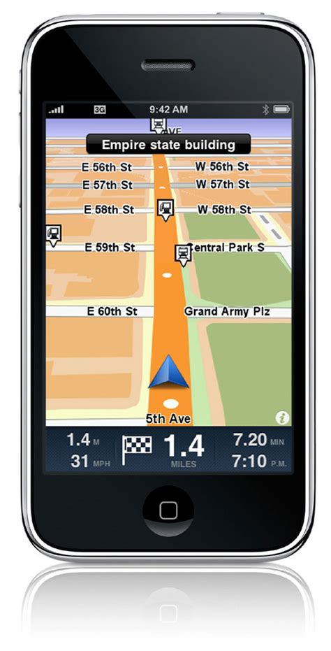 gps iphone iphone gps navigation from tomtom navigadget