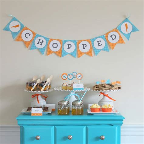 Tween Party Ideas  Chopped Party  Somewhat Simple