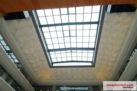 photos plafond tendu eclairage fibre optique